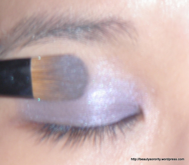 purple eyeshadow step 2
