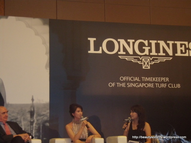 Lin Chi Ling in Singapore
