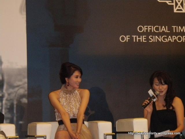 lin chi ling at press conference