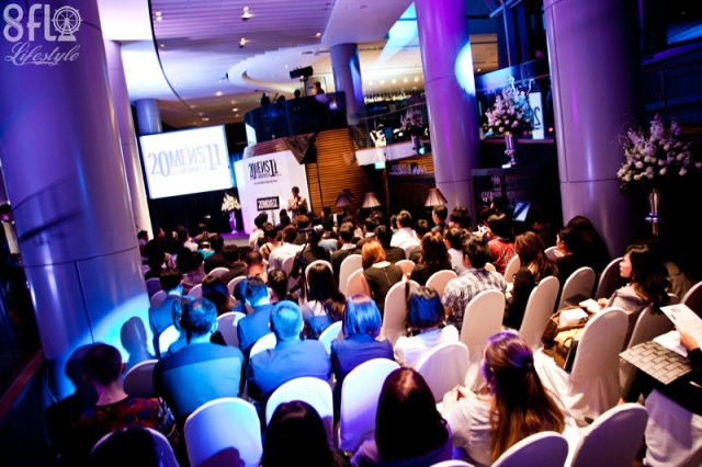 press event men's fashion week in singapore