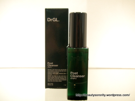 DrGL Post Cleanser by Dr Georgia Lee