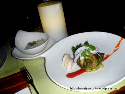the skate at sentosa resort and spa, the garden restaurant