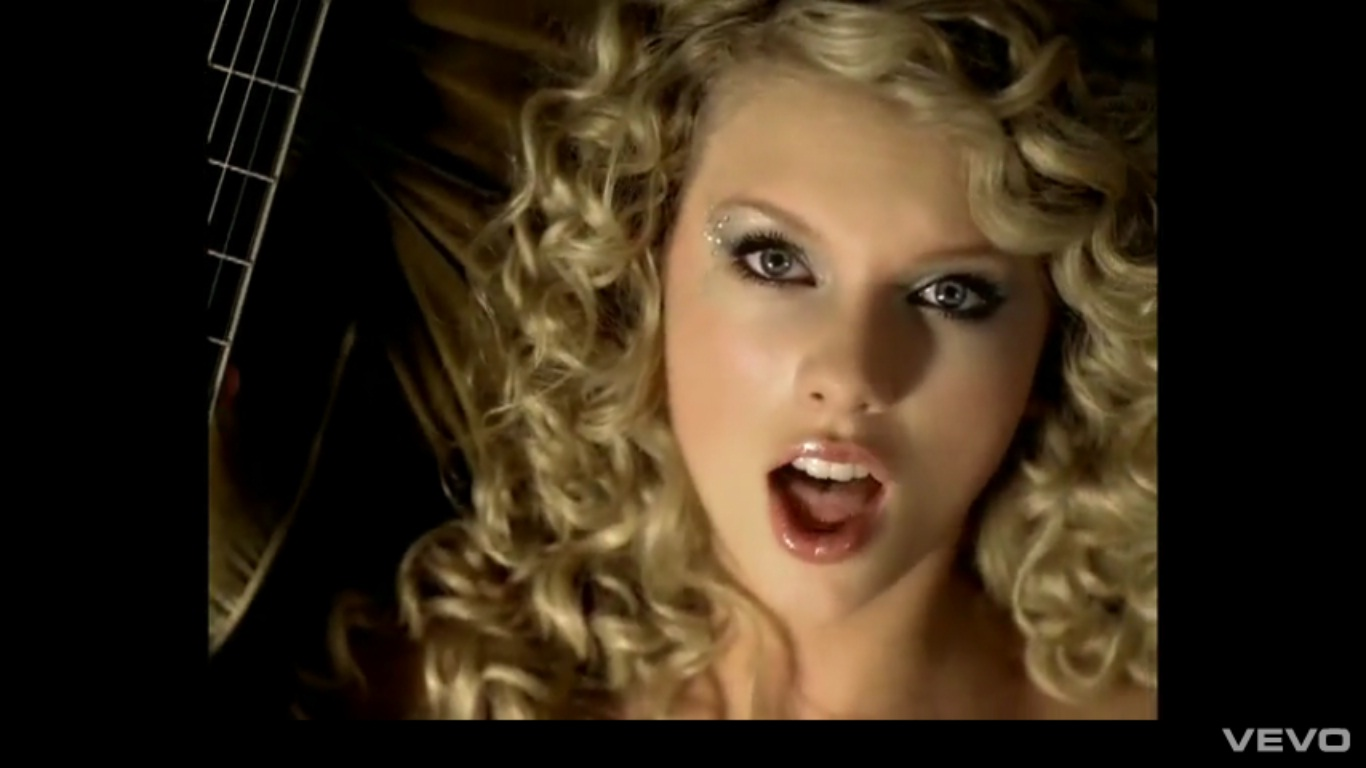 Taylor Swift Eye Makeup In Teardrops On My Guitar