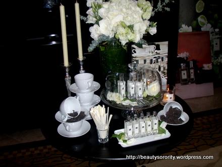 Jo Malone Tea fragrance blends launch at Fullerton