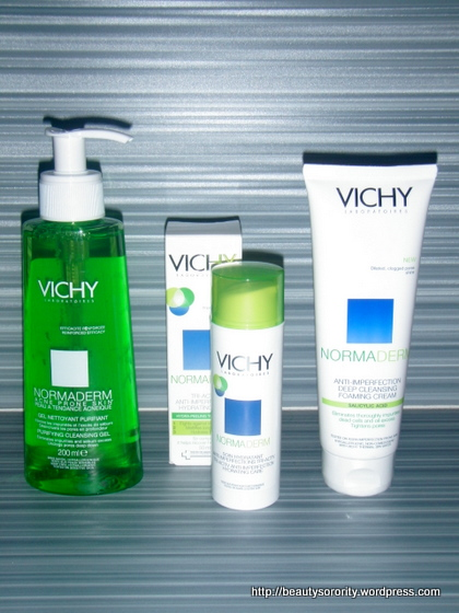 vichy normaderm tri-activ imperfection care
