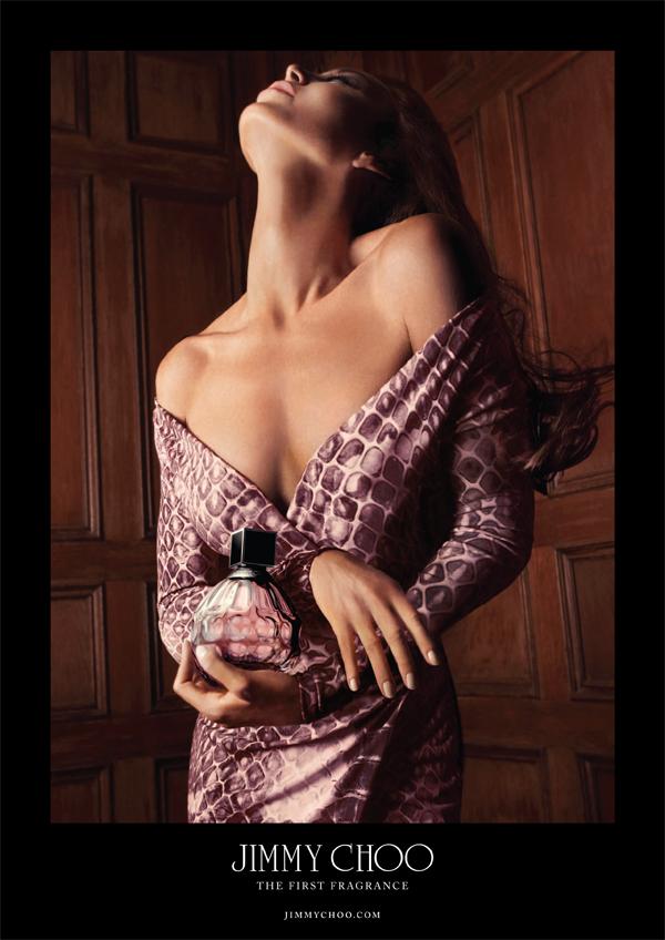 tamara mellon fronts jimmy choo eau de parfum campaign