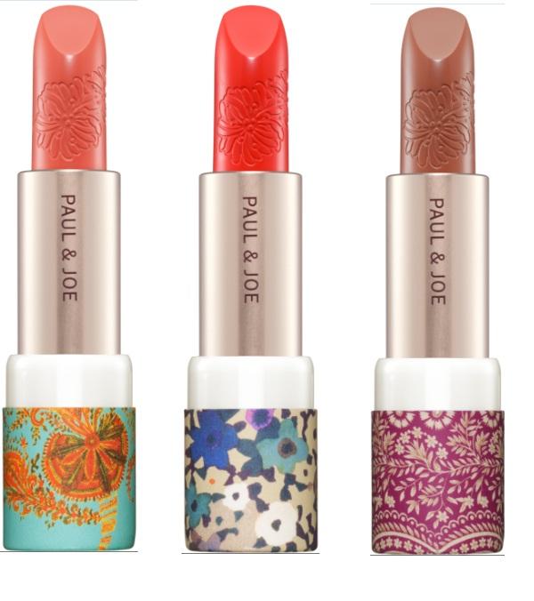 lipsticks from paul & joe autumn collection