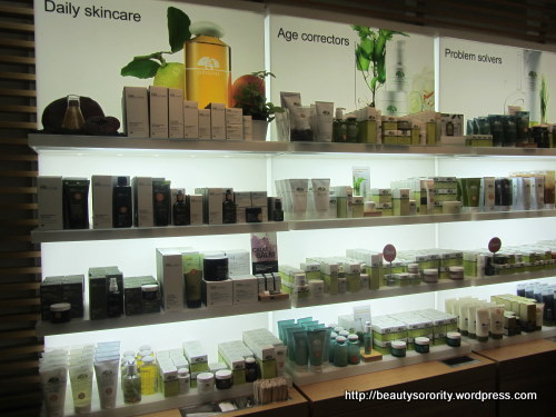 origins counter at isetan scotts - products