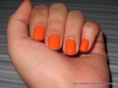 orange nails - the nail district