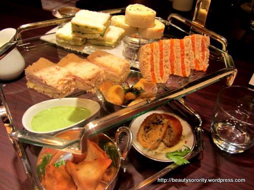 tea at 10 scotts, hyatt hotel