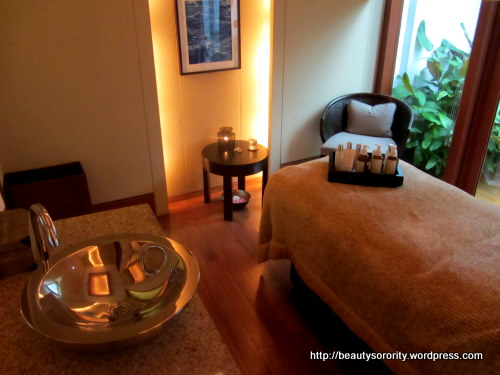 auriga spa treatment room