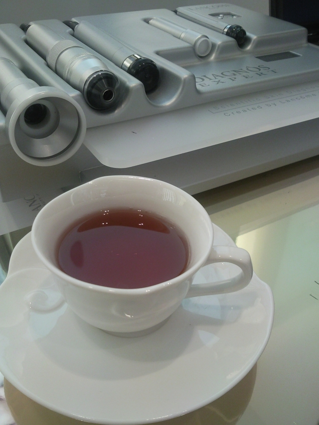 tea at lancome beauty institute, mbs