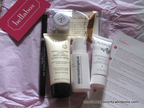 bellabox march - dermatologica, royal cosmetics, caudalie, k-palette, a'kin