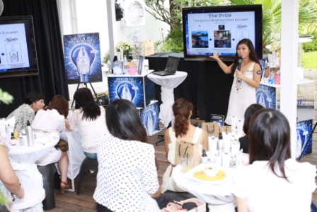 kiehl's clearly-corrective bloggers' event