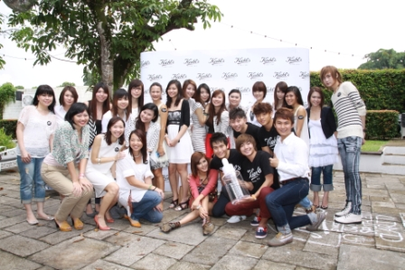 kiehl's event bloggers - group shot