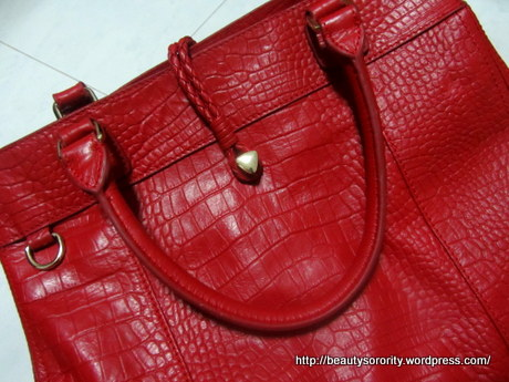 tocco tenero red bag