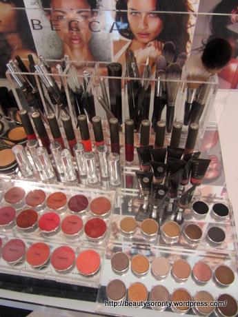 becca cosmetics at escentials - products