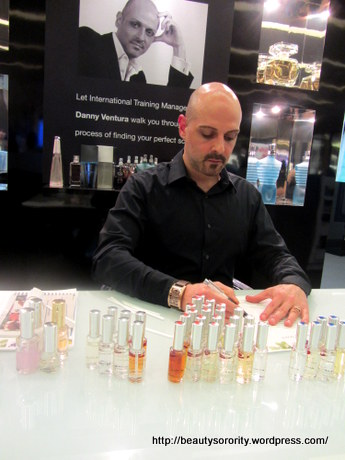 danny ventura perfume profiling