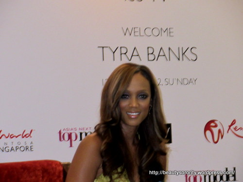 tyra banks, antm executive producer, in singapore, resorts world singapore