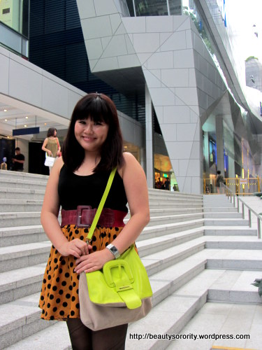 neon coloured clutch bags