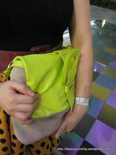 messenger bag and clutch