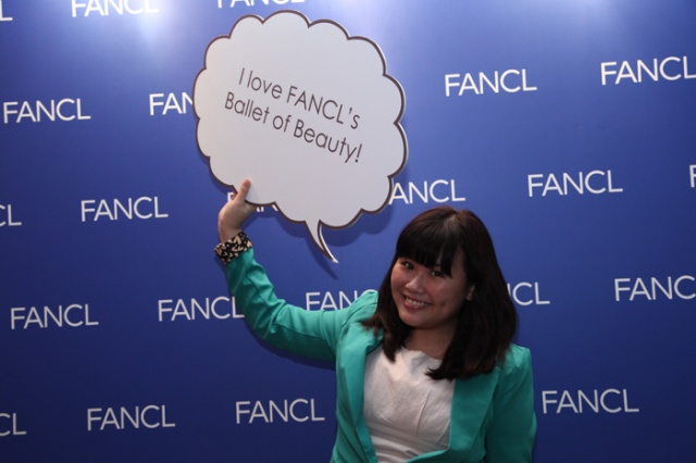 fancl ballet of beauty blogger party