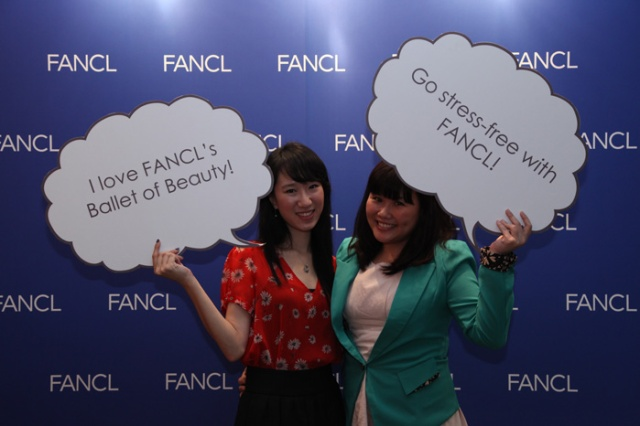 charlene and kristen juliet at fancl party