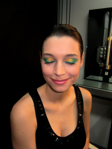 make up for ever mufe technicolor palette - how to
