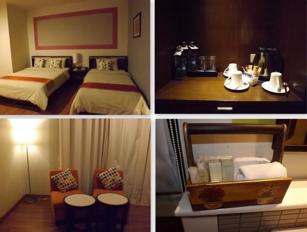 hotel de bangkok room