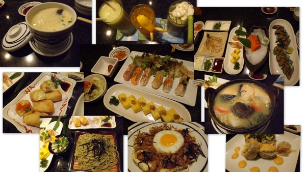 food at fuji restaurant bangkok