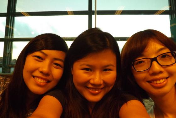 at the changi airport