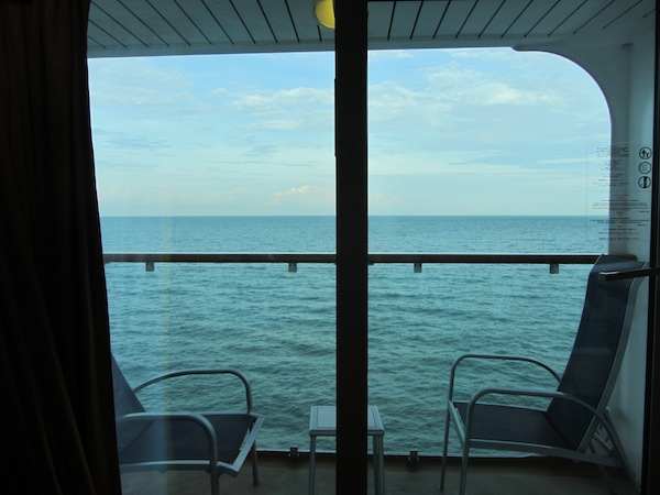 balcony view - star cruise superstar virgo