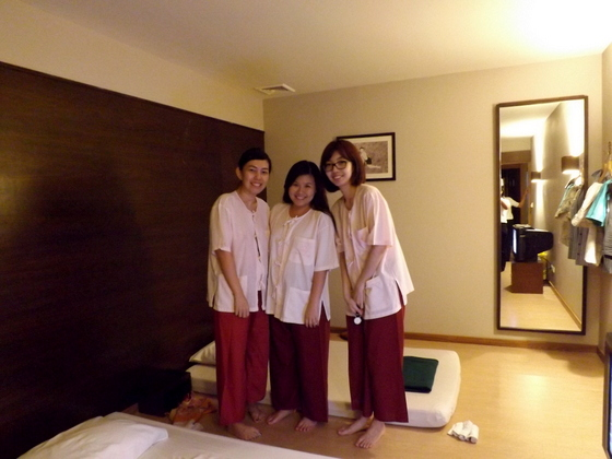 healthland spa inside suite
