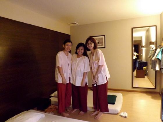healthland spa inside suite