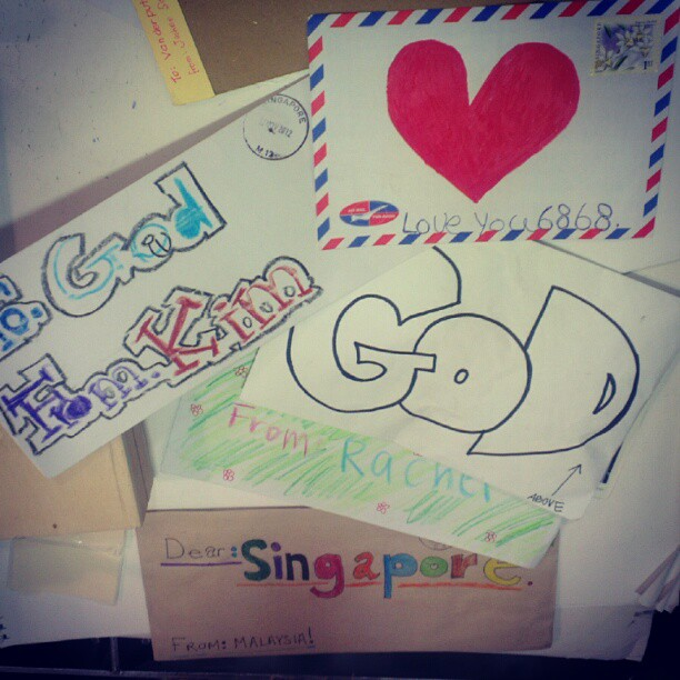 letters to God at SingPost