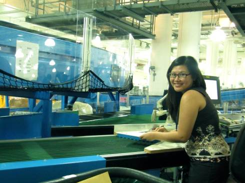 Pretending to work at SingPost