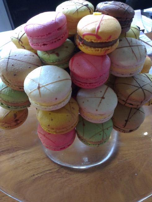 macarons at lime restaurant parkroyal on pickering