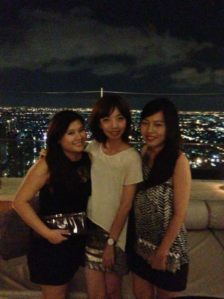sirocco bangkok - three of us
