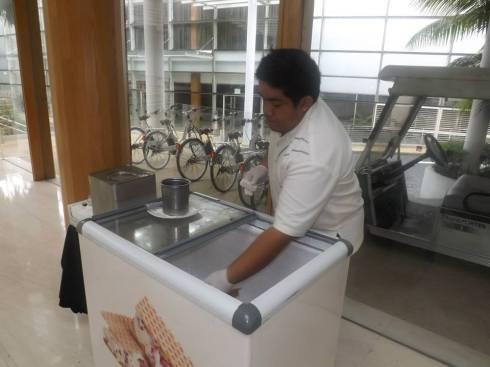 ice-cream cart at amara sanctuary