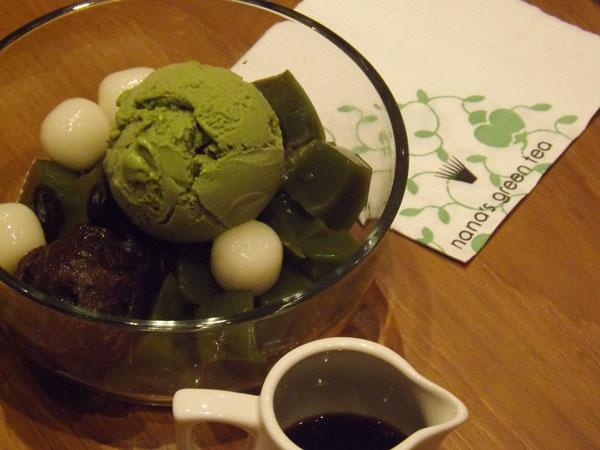 nana-greentea matcha anmitsu