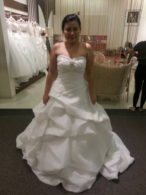 my bridal gown at french weddings