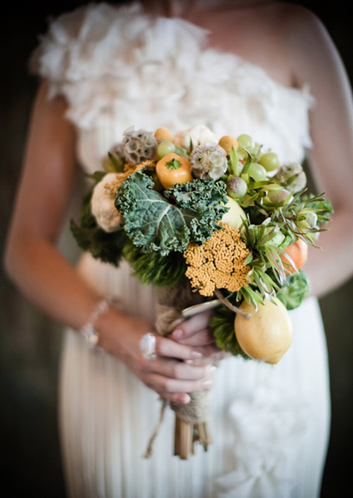 vegetables wedding bouquet