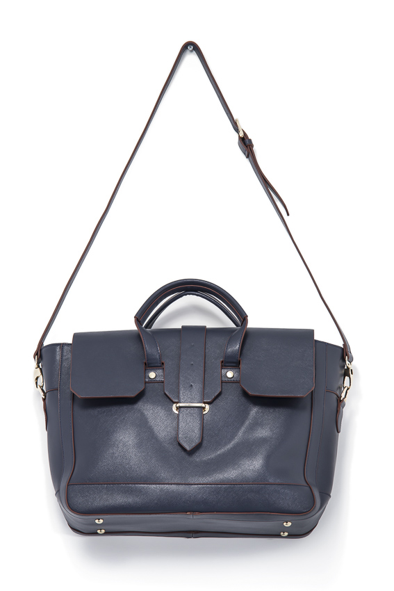 large flap cover tote