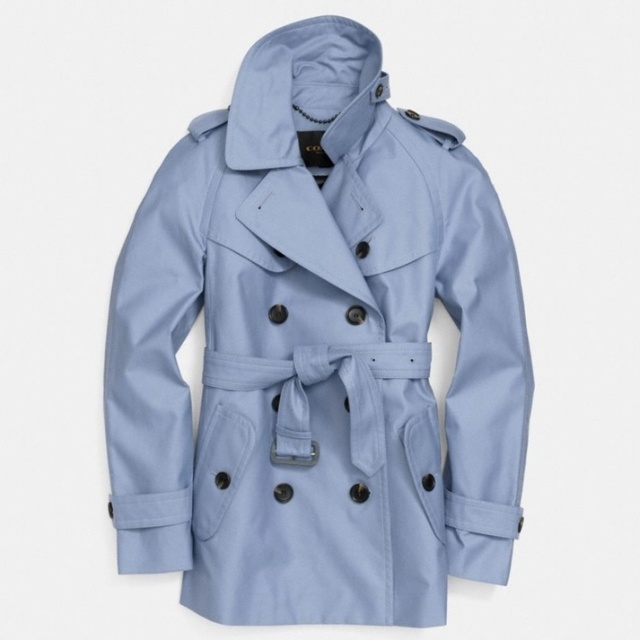 Coach Short Trench – Blue